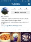 Capture d'écran - Instagram